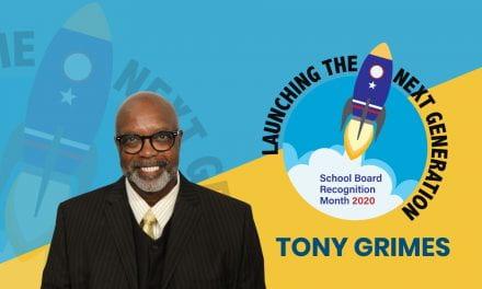 Board Appreciation: Tony Grimes