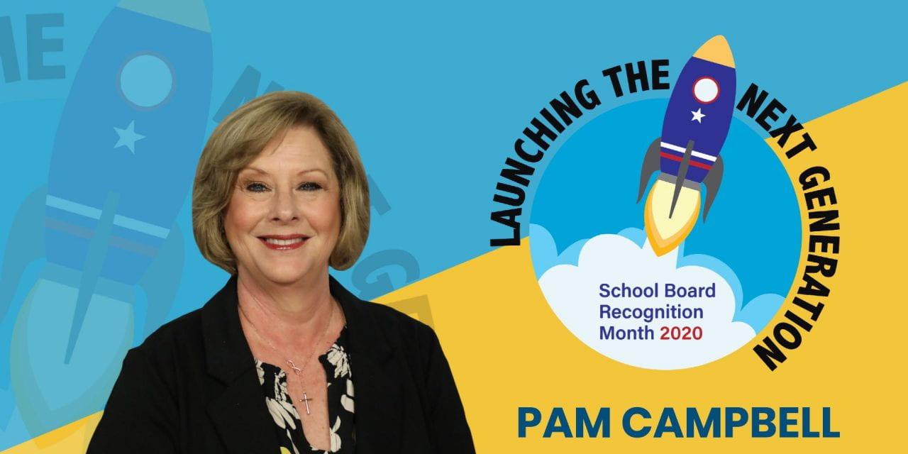 Board Appreciation: Pam Campbell