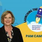 Mes de Apreciación al Consejo Directivo de Irving ISD: Pam Campbell
