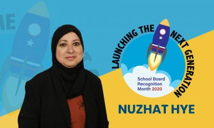 Board Appreciation: Nuzhat Hye