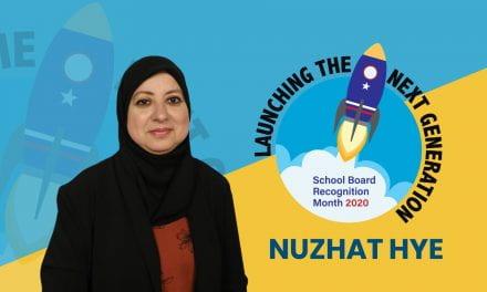 Mes de Apreciación al Consejo Directivo de Irving ISD: Nuzhat Hye