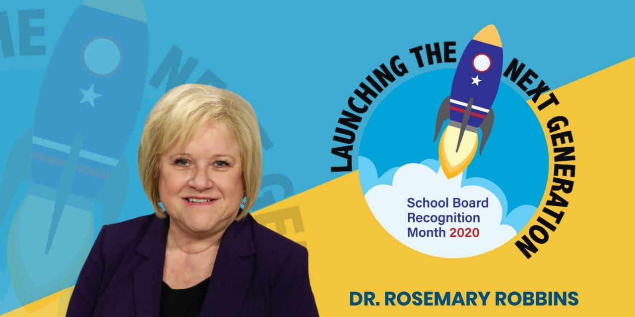 Board Appreciation: Dr. Rosemary Robbins