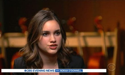 CBS Evening News: 3D-Printed Limb Helps Young Musician Play Cello