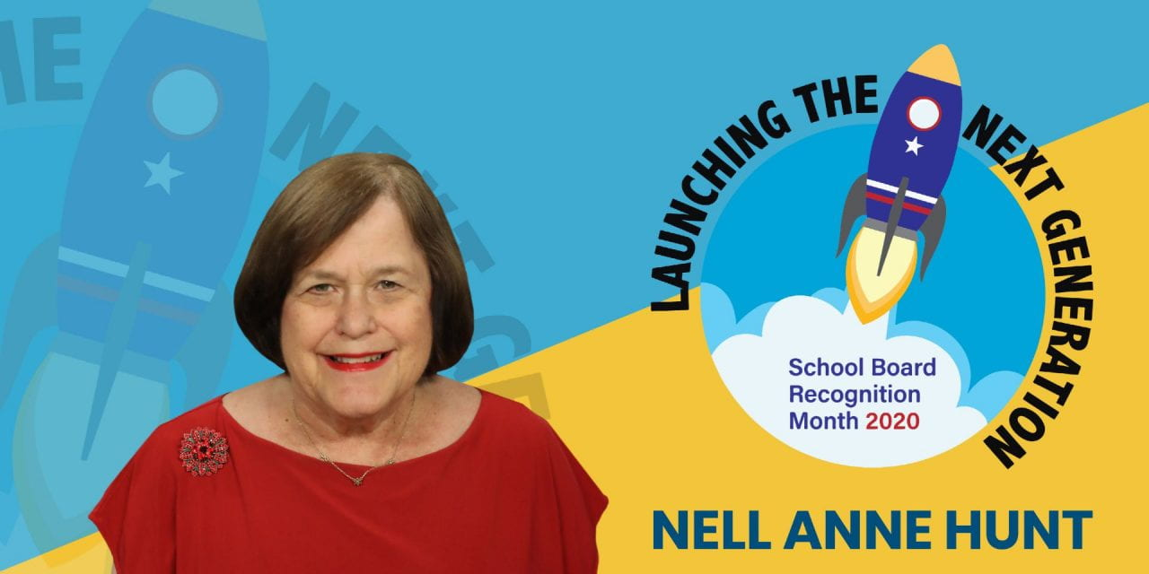 Mes de Apreciación al Consejo Directivo de Irving ISD: Nell Anne Hunt