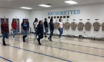 Nimitz Cadets March to State
