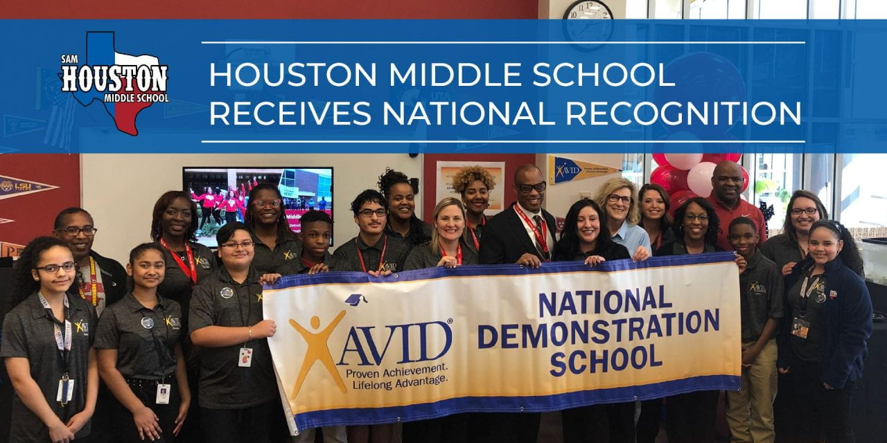 Houston Middle School Receives National Recognition