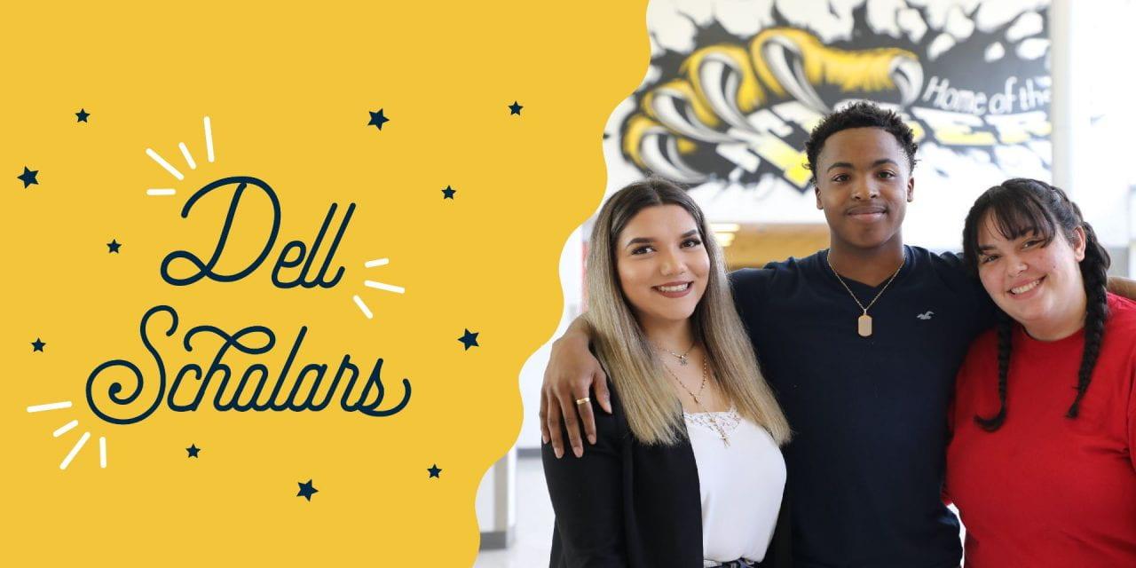 Estudiantes de la Preparatoria Irving Reciben la Beca Dell