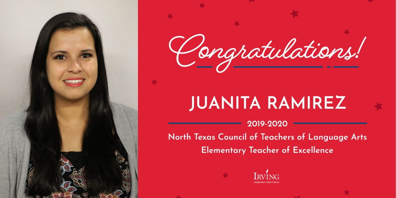 Lively Teacher Named 2019-2020 Teacher of Excellence