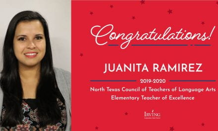 Lively Teacher Named 2019-2020 Teacher of Excellence