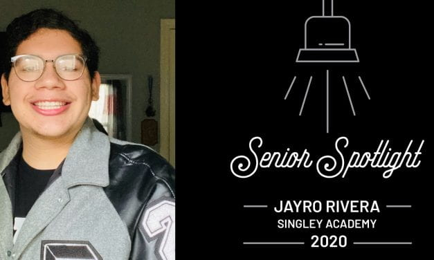 Senior Spotlight: Jayro Ramirez, Singley Academy