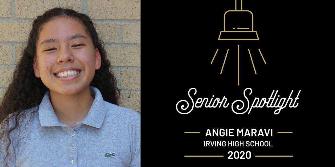 Senior Spotlight: Angie Maravi, Irving