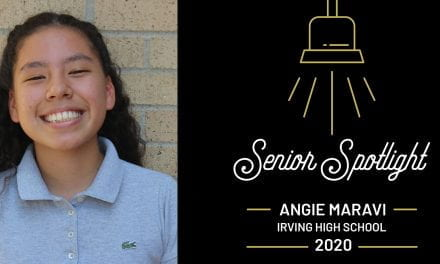 Senior Spotlight: Angie Maravi, Irving