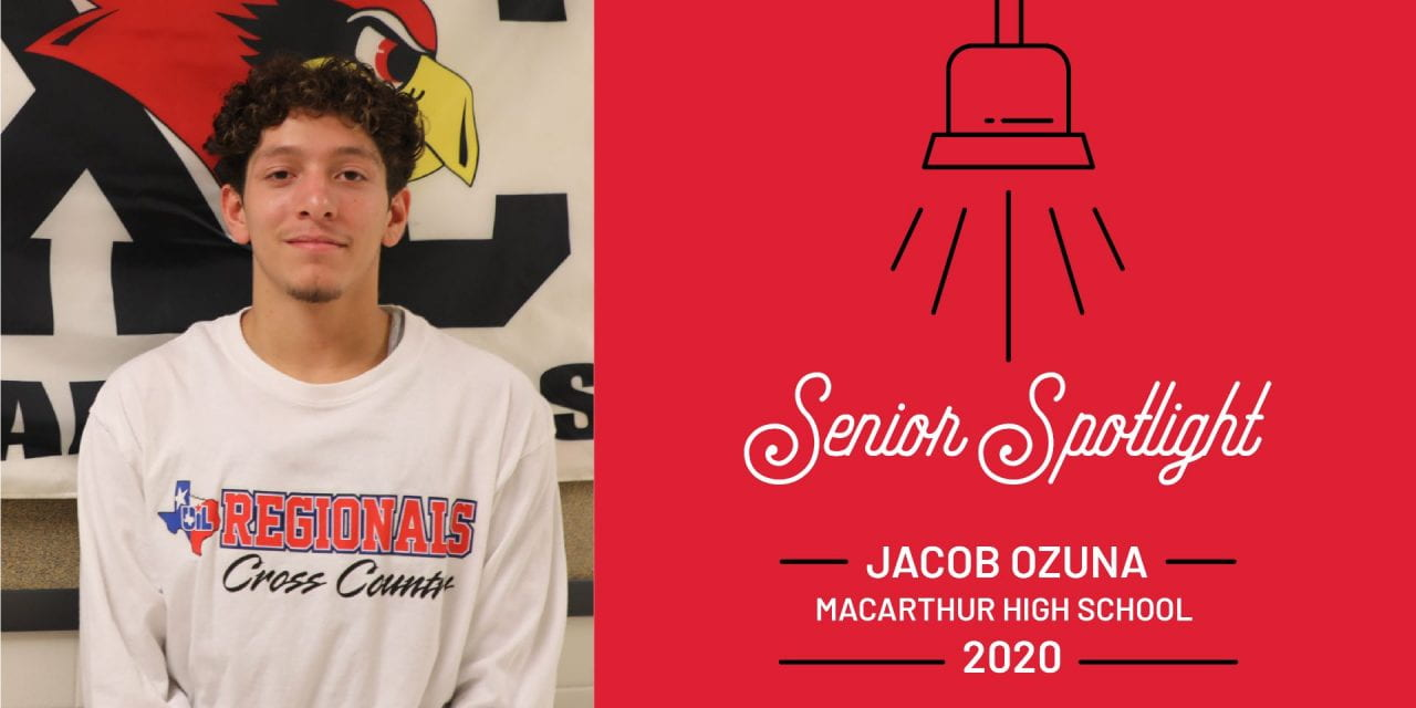 Senior Spotlight: Jacob Ozuna, MacArthur