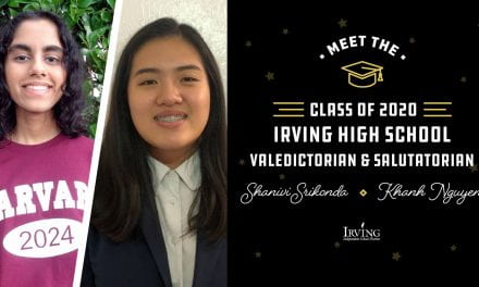 Q&A with Irving HS's Top Students