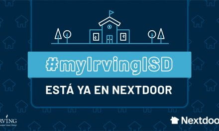 #myIrvingISD se une a Nextdoor