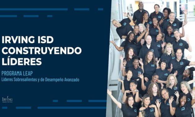 Irving ISD Construyendo Líderes