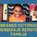 Familia de Irving ISD celebra las victorias del aprendizaje remoto