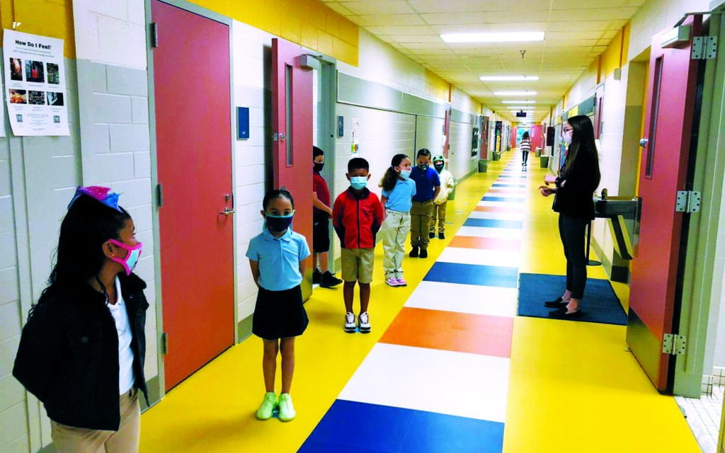 Rambler: Irving ISD Teachers, Students Ecstatic on First Day of In-person Learning