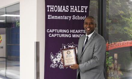 Thomas Haley Principal Wins NAACP Award