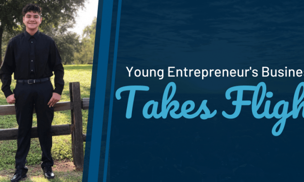 Young Entrepreneur's Business Takes Flight