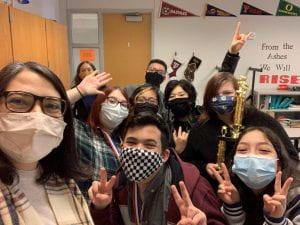 Crockett MS Students Celebrate