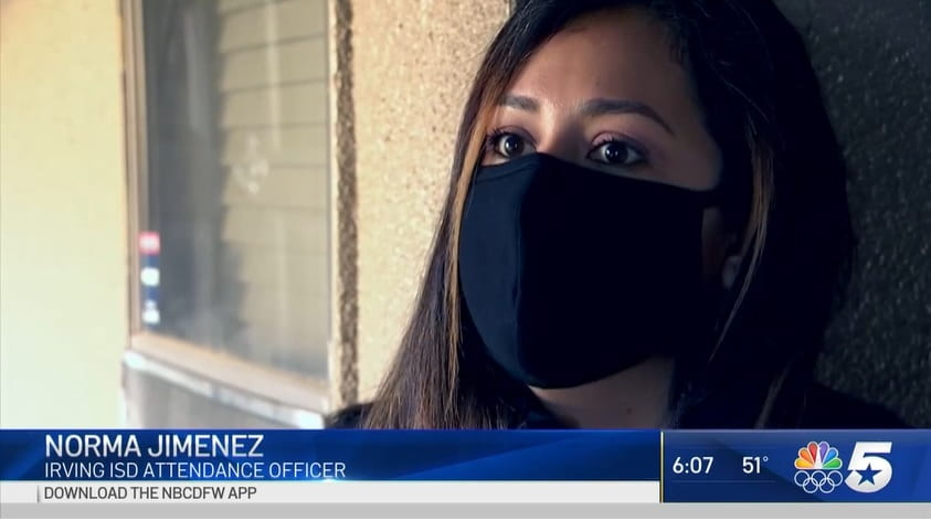 NBC 5: Irving ISD Conducts 'Home Visit Blitz'