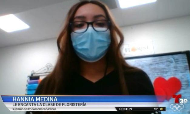 Telemundo 39: Estudiantes de Irving realizarán arreglos florales para este 14 de febrero