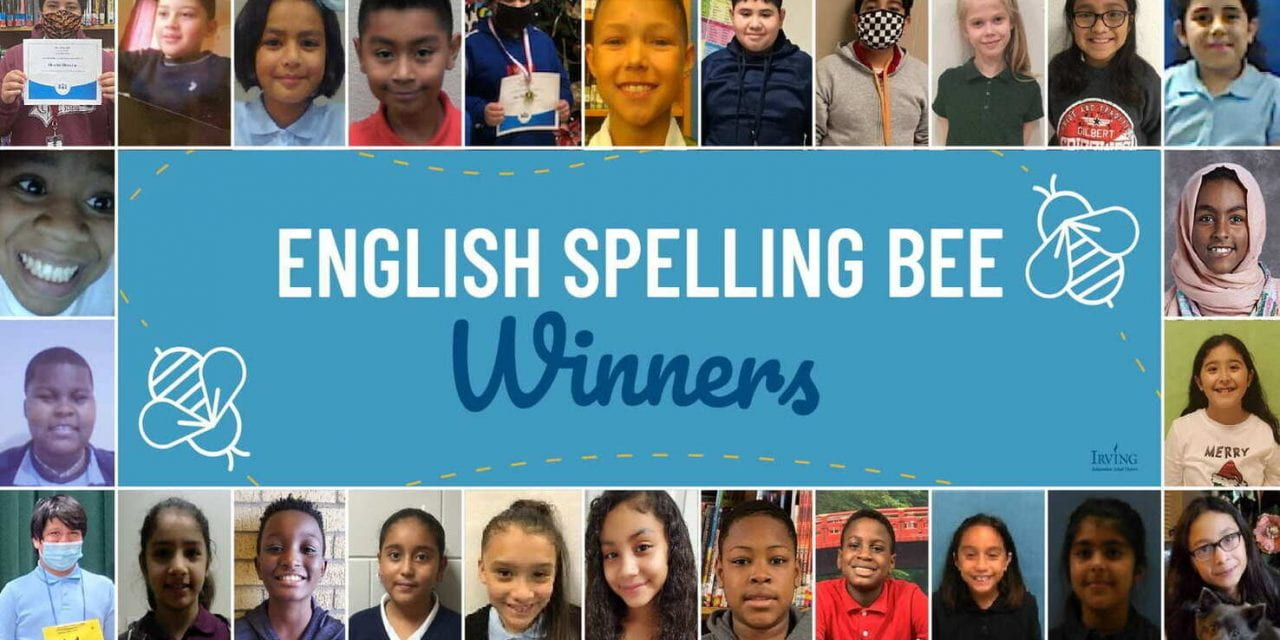 Buzzing Their Way to District Spelling Bees