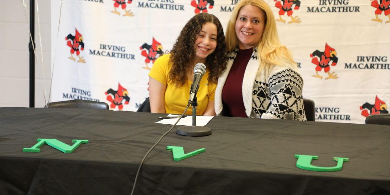 Caledonian Record: Texas Libero Naiha Rivera Lopez Lands At Lyndon