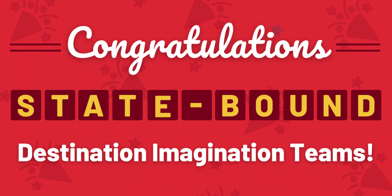 18 Teams Advance to Destination Imagination State Tournament