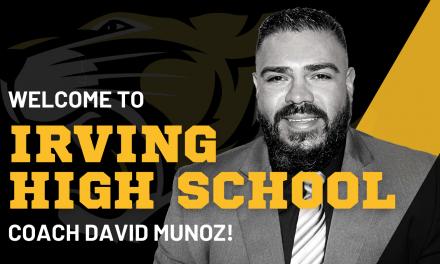 David Munoz Named Irving High Athletic Coordinator/Head Football Coach