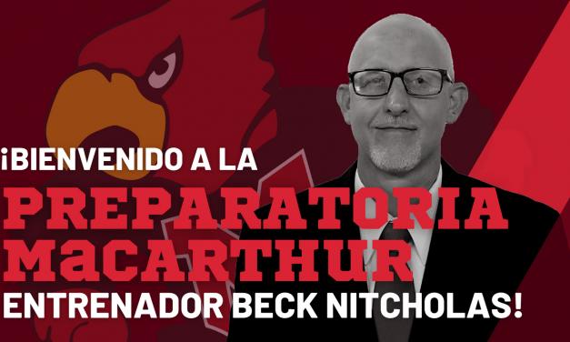 Irving ISD nombra coordinador atlético/ entrenador principal de fútbol en la Preparatoria MacArthur