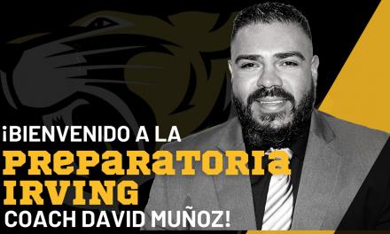 David Muñoz es nombrado coordinador atlético y entrenador en jefe de fútbol de la Preparatoria Irving