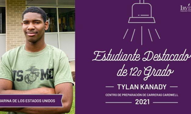 Tylan Kanady: Estudiante destacado de 12.o grado del Centro de Preparación de Carreras Cardwell