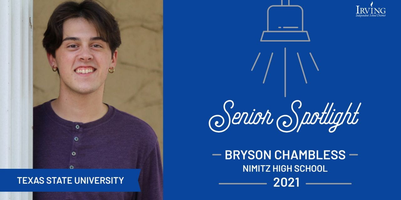 Senior Spotlight: Bryson Chambless, Nimitz High School