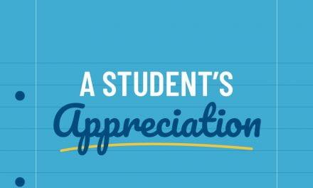 A Student's Appreciation