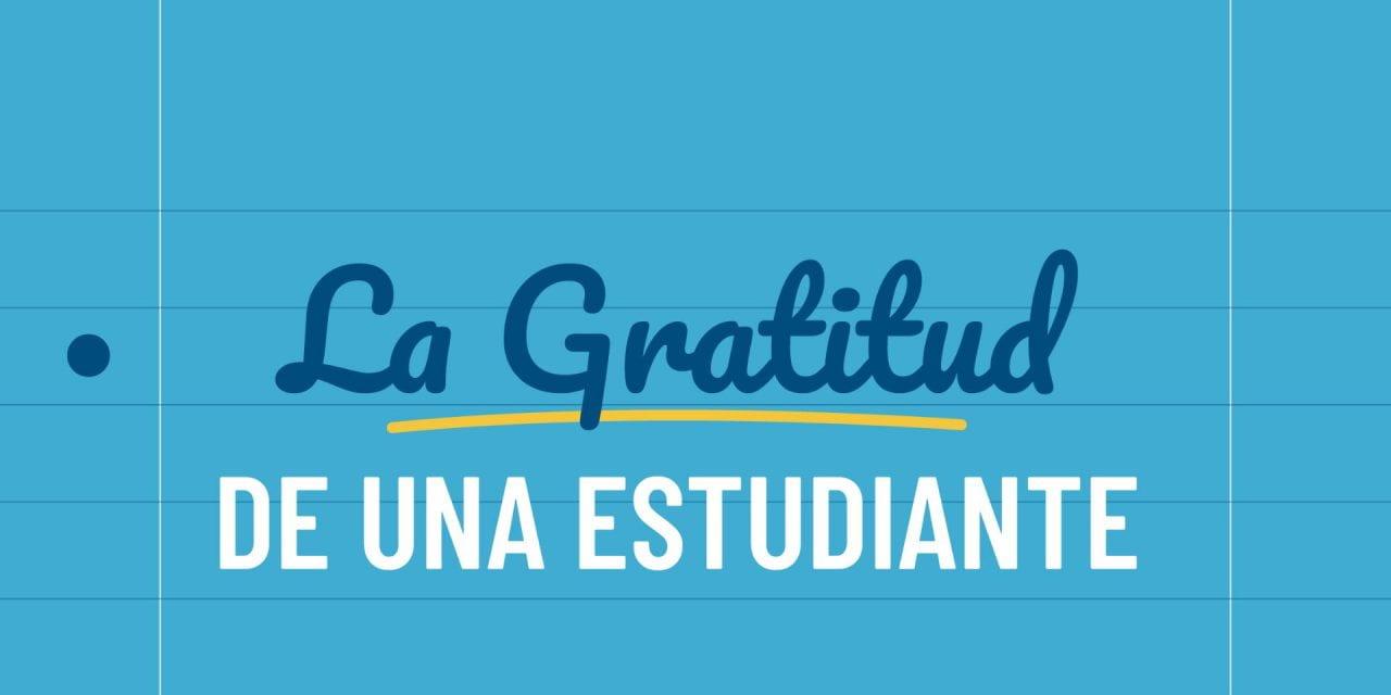 Hablando de agradecimiento por la labor de los maestros