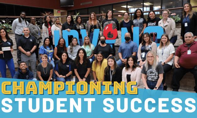 Championing Student Success