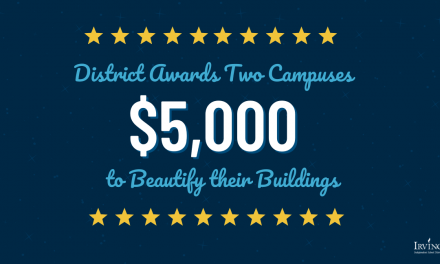 District Awards Two Campuses $5,000 to Beautify their Buildings