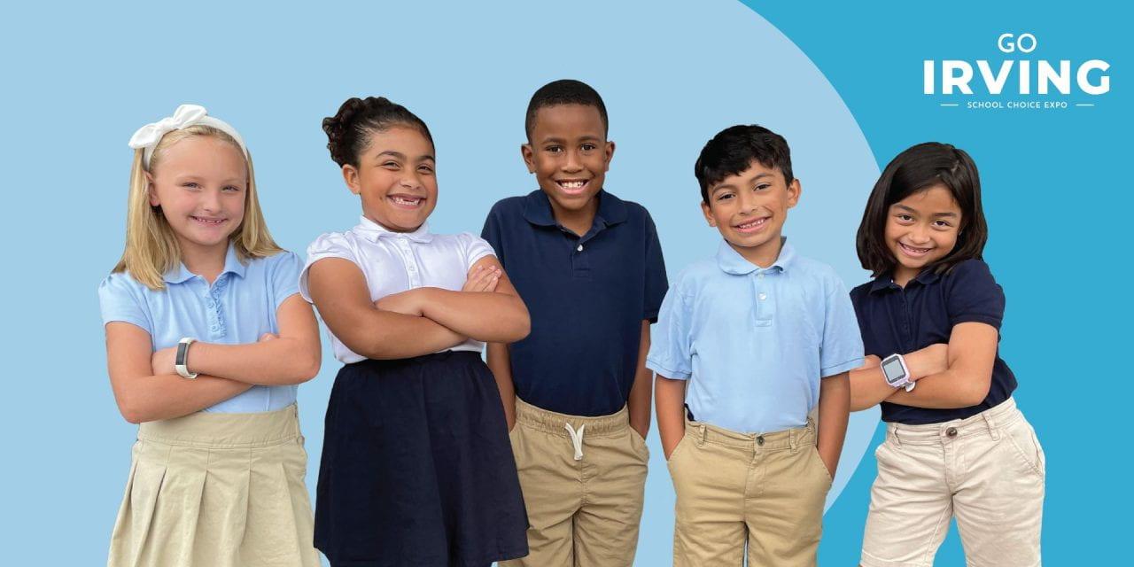 """¡Ya viene la gran expo de elección de escuelas """"Go Irving""""!"""