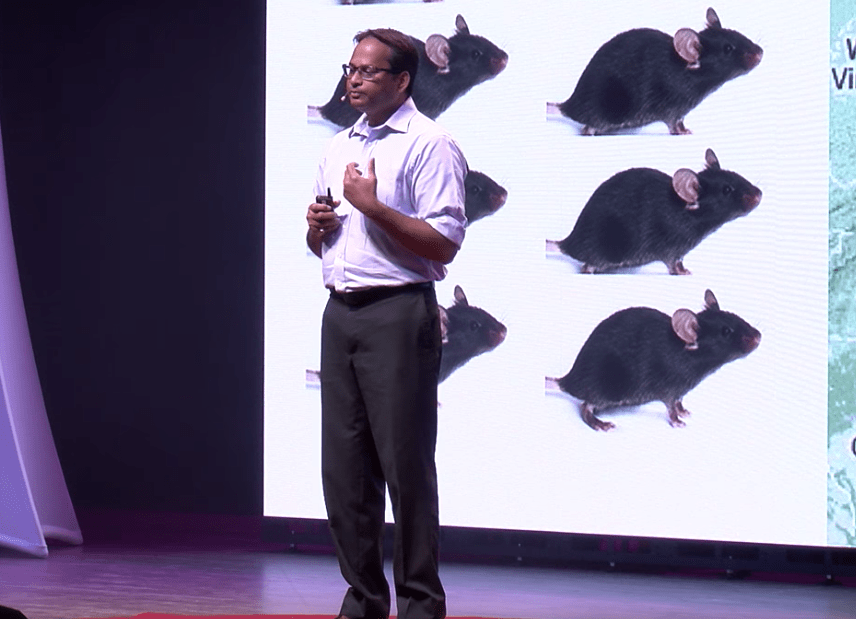 Vivek give TEDxDirigo talk on addiction