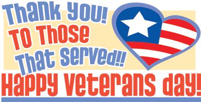 Veteran's Day Program – 11/10/17