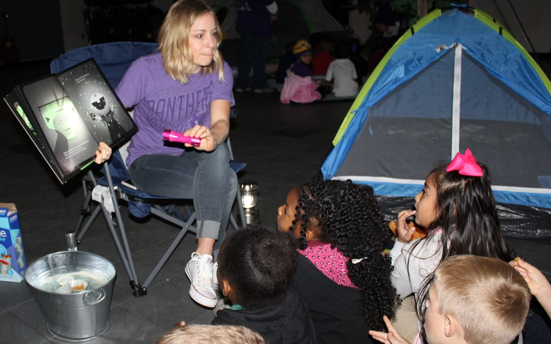 S'mores, campfires, and books…Oh My!