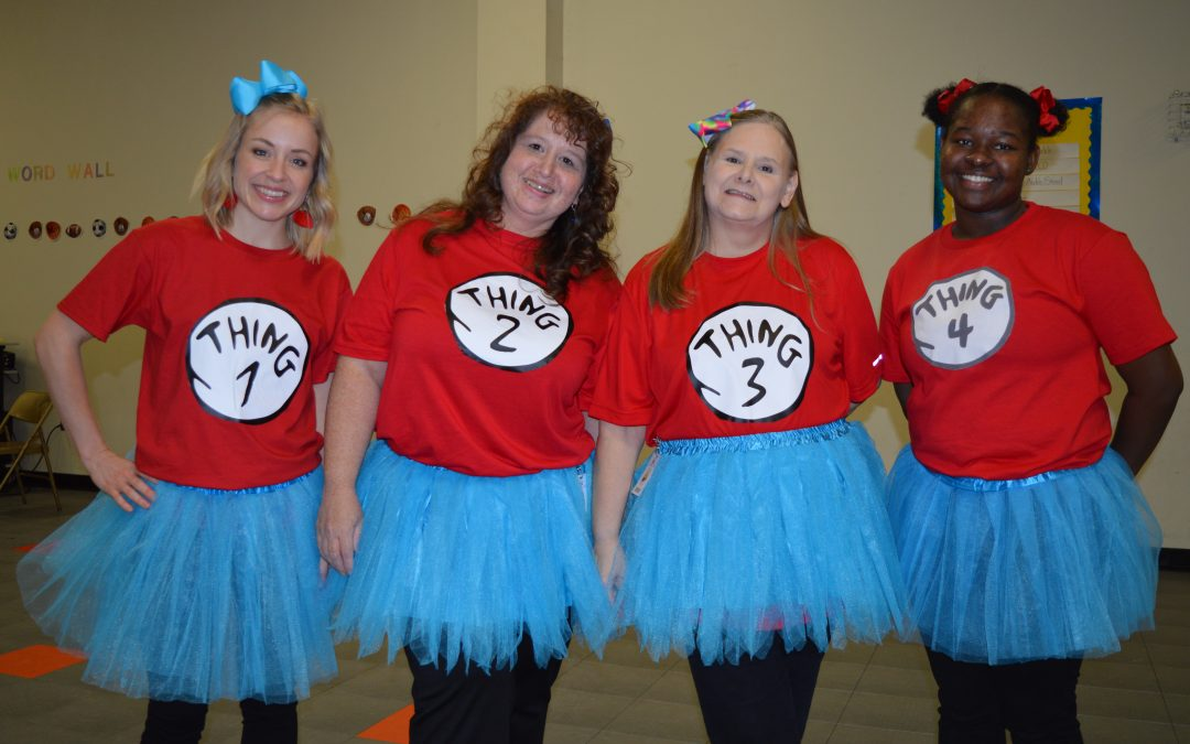 Dr. Suess Day at Herty Primary