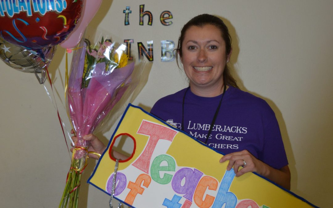Teacher of the Year – Jessica Williams!!