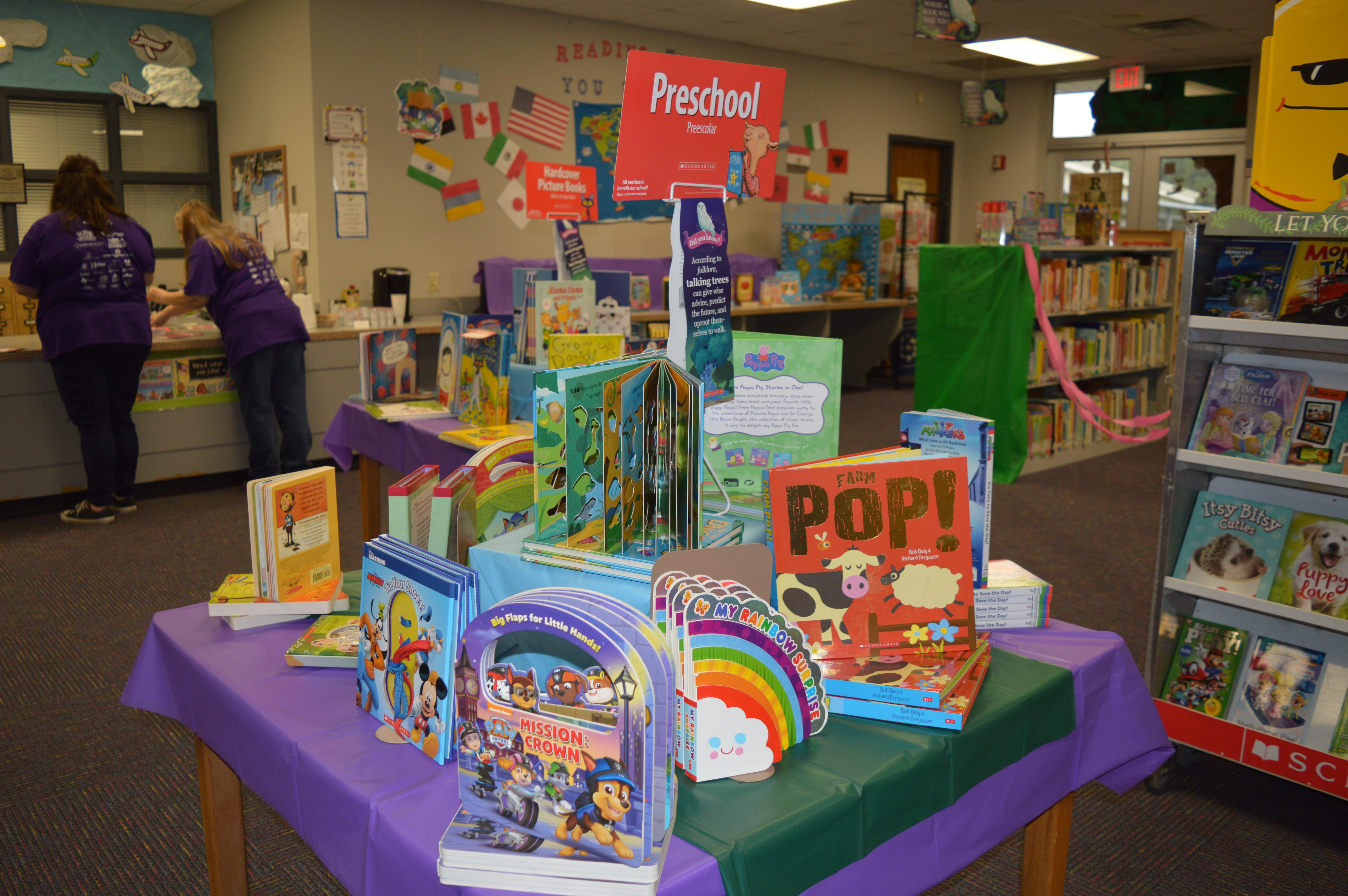 Enchanted Forest Book Fair 2018 Herty Primary Peppa Pig Peppas First Sleepover