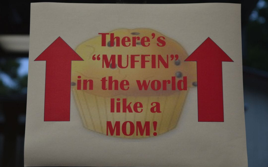 Muffins with Mom in Mr. Wade's Class
