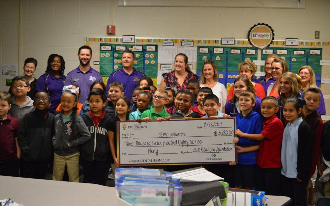LISD Education Foundation Awards Grants at Herty Primary