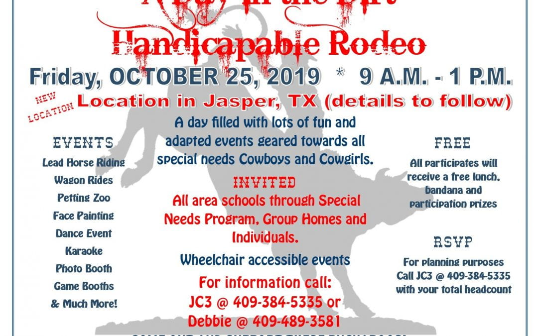A Day in the Dirt – Handicapable Rodeo