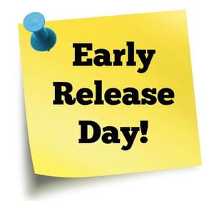 Early Release – September 25th